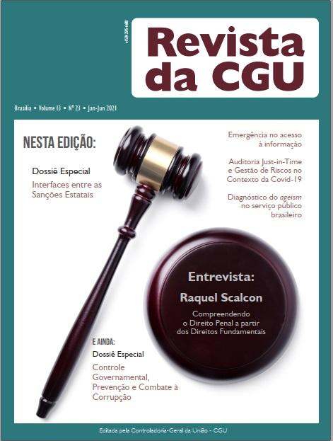 Visualizar v. 13 n. 23 (2021): Revista da CGU, 23, jan-jun/2021
